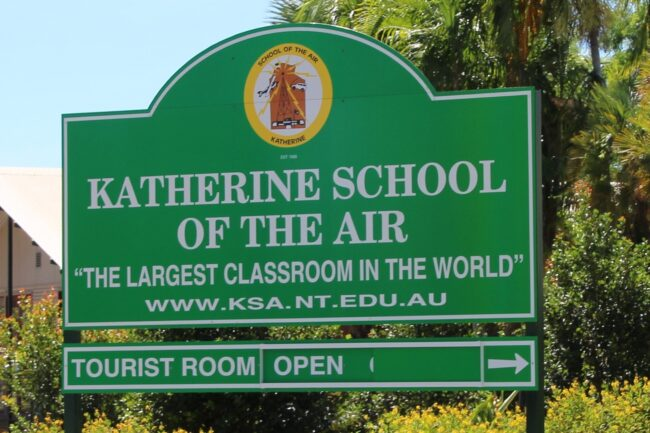 Katherine School Of Air Tours
